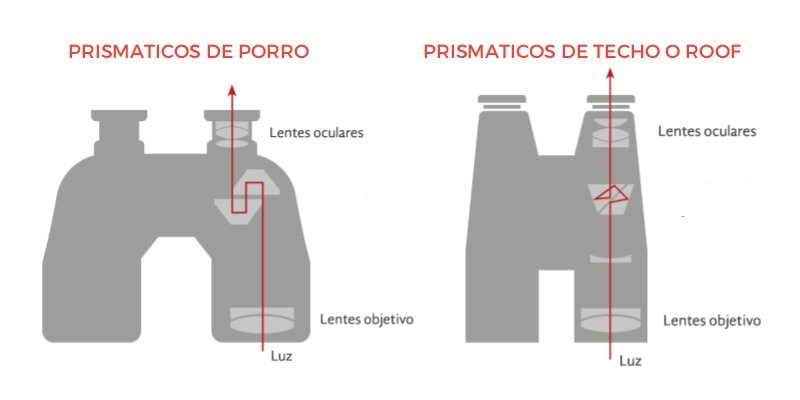 prismas y lentes de prismaticos 10x50