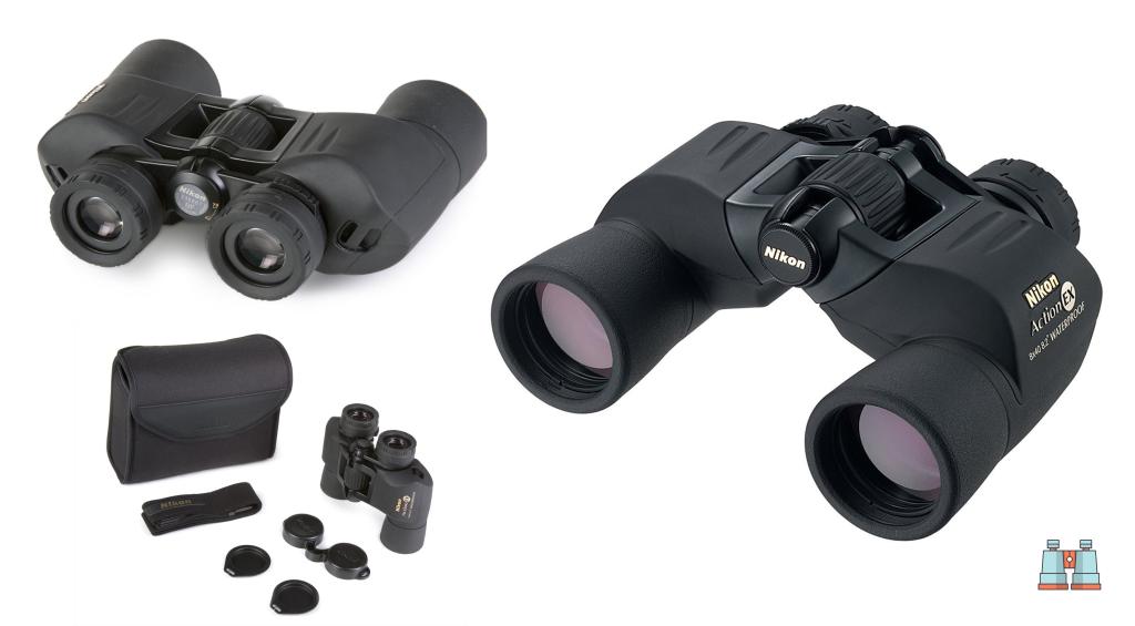 prismaticos para ver aves Nikon Action EX 8X40