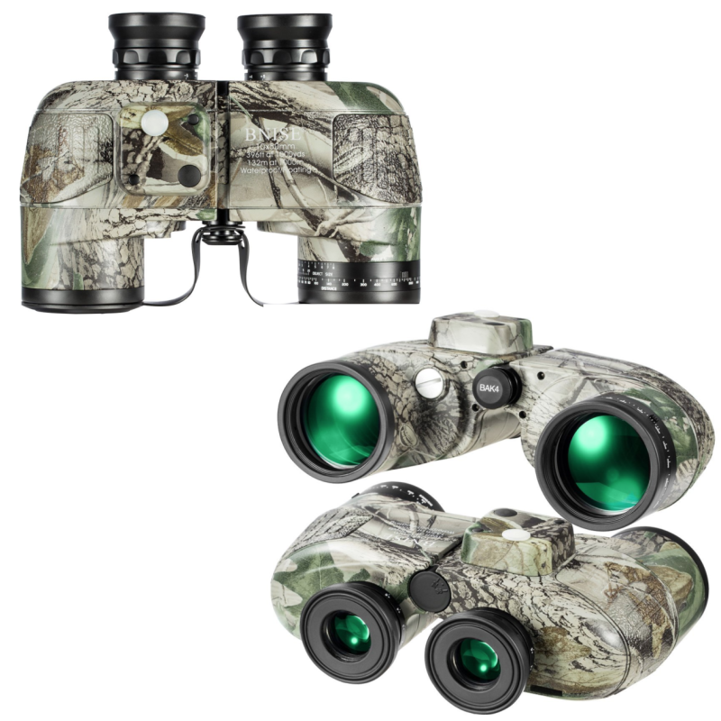 BNISE prismáticos militares 10 x 50