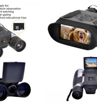 prismaticos con cámara